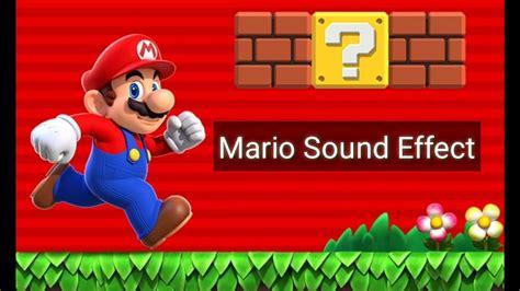 Mario Sounds Download Super Mario Sound Effects