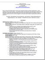 Marketing Director Sample Resume Laurie Mitchell Company