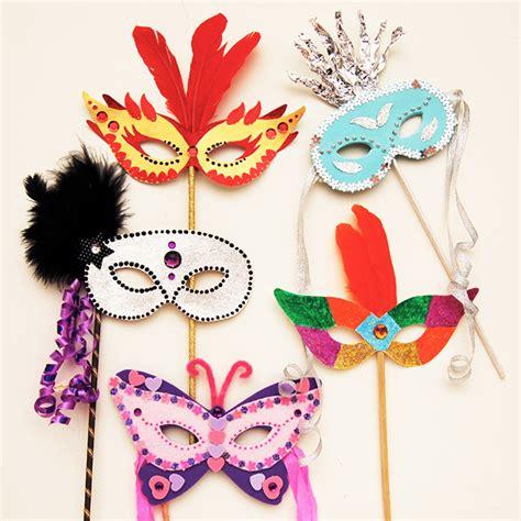 Masquerade Mask Craft Kids Crafts FirstPalette