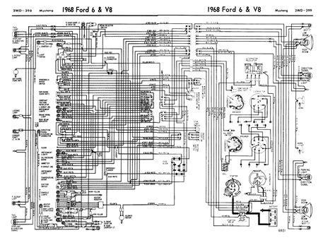 1968 mustang wiring diagram images 67 ford turn signal wiring 1968 mustang door diagram 1968 wiring diagram and