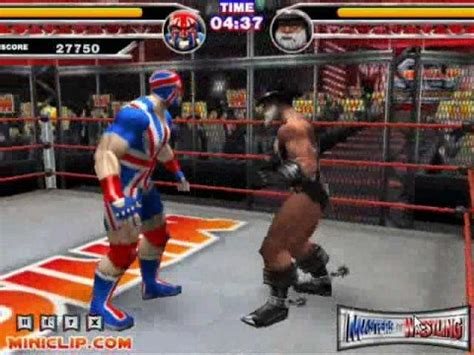 Masters of Wrestling Games at Miniclip