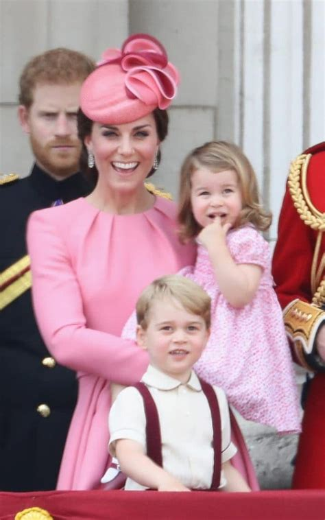 Matching Mum and Dad Prince George and Princess Charlotte