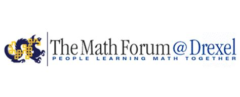 Math Forum Electronic Newsletter The Math Forum Drexel
