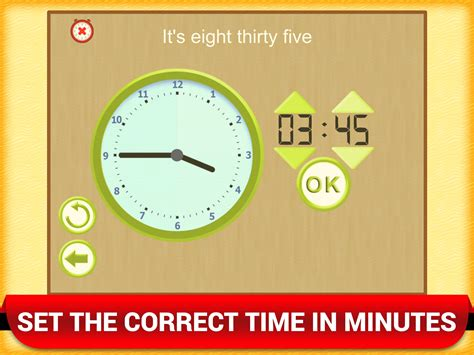 Math Games Learning time game digital clock match