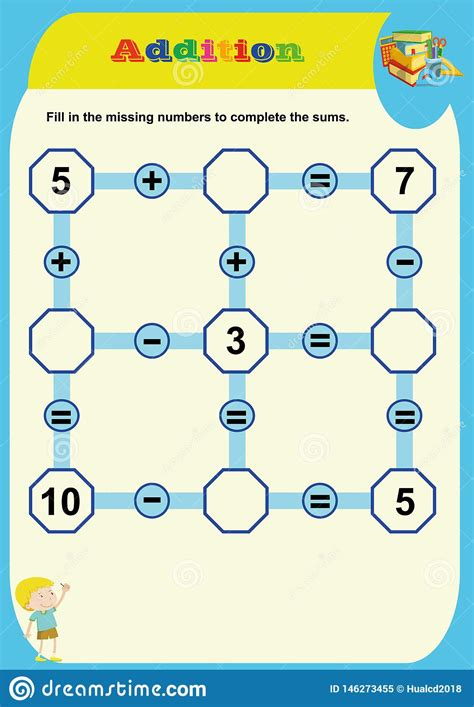 Math Picture Puzzle Addition Free Learning Games from