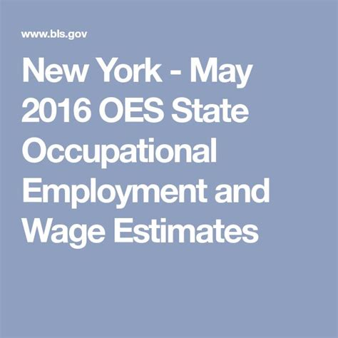 May 2016 State Occupational Employment and Wage Estimates