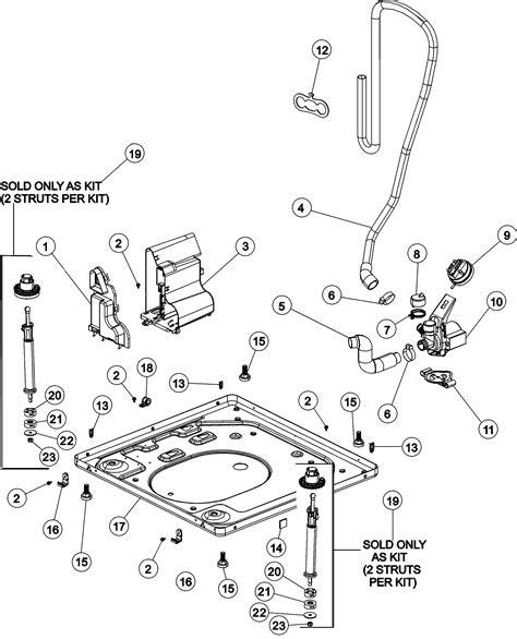 Maytag Washing Machine Diagram