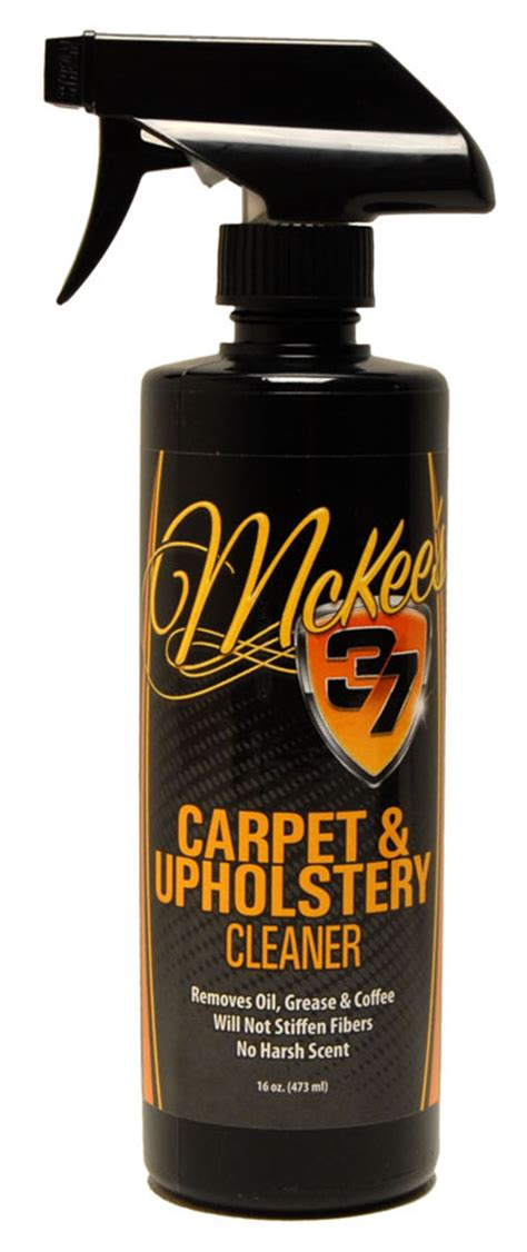 McKee s 37 Carpet Upholstery Cleaner lifts stains out of