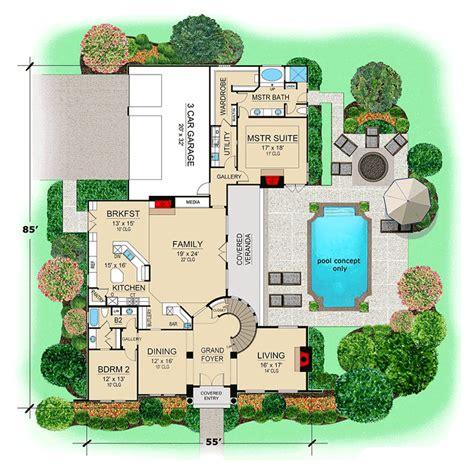 Mediterranean House Plans at Dream Home Source