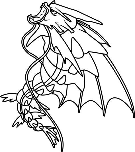 Mega Gyarados Pokemon coloring page Free Printable