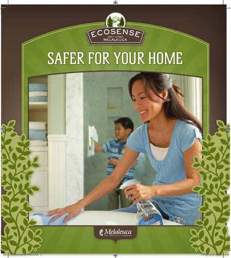 Melaleuca EcoSense Products Safer for your home Safer