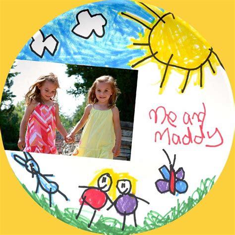 Melamine plates children drawing creative activity