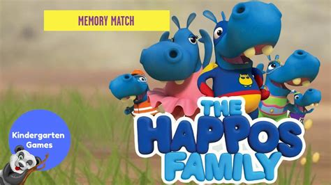 Memory Match The Happos Family Games Boomerang
