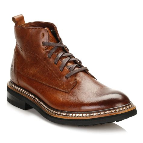 Men Chukka Boot Brown Leather ShopStyle