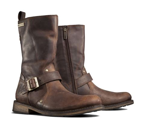 Men s Brendan Boots Brown Casual Official Harley