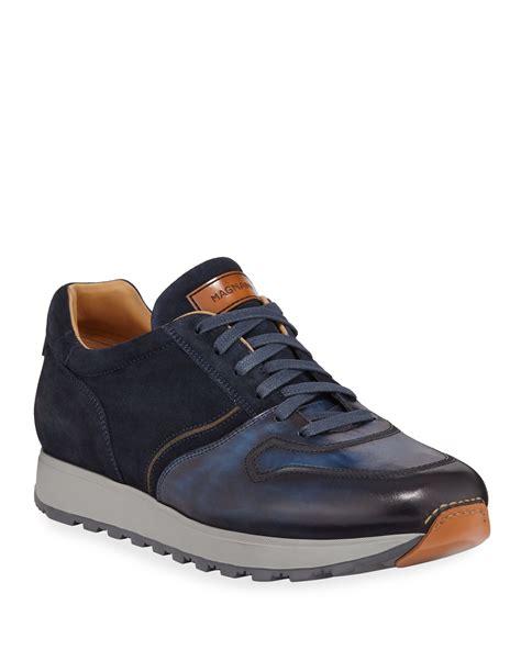 Men s Designer Shoes Leather Suede at Neiman Marcus