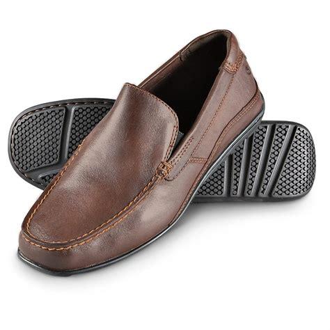 Men s Dress Casual Slip On Shoes Rockport