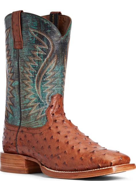 Men s Exotic Cowboy Boots Exotic Leather Boots Ariat