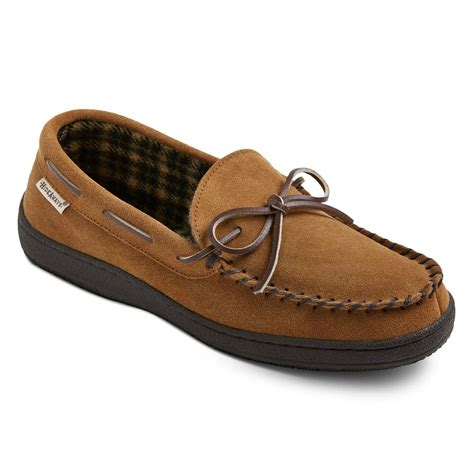 Men s Hideaways by L B Evans Moccasin Slippers Target