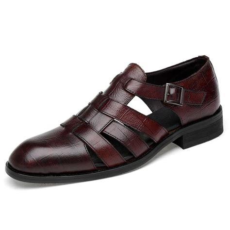 Men s Italian Sandals Italian Dress Shoes