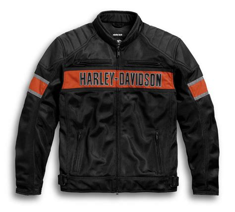 Men s Mesh Motorcycle Jackets Harley Davidson USA