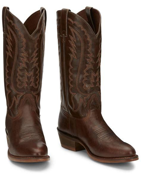 Men s Round Toe Cowboy Boots Sheplers