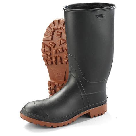 Men s Rubber Boots Rain Boots WorkWearBoots