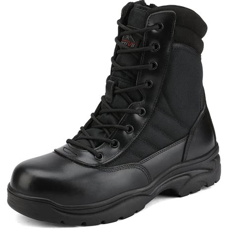 Men s Steel Toe Boots Safety Work Boots