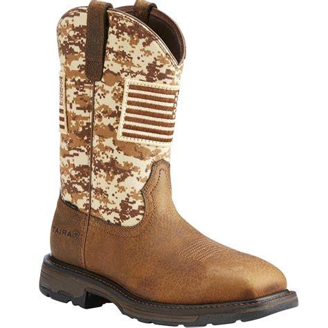 Men s Steel Toe Cowboy Boots Composite Toe Ariat