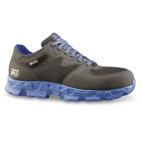 Men s Timberland PRO Powertrain Alloy Toe ESD Work Shoes