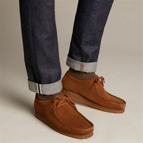 Men s Wallabee Boots Clarks Shoes Official Site