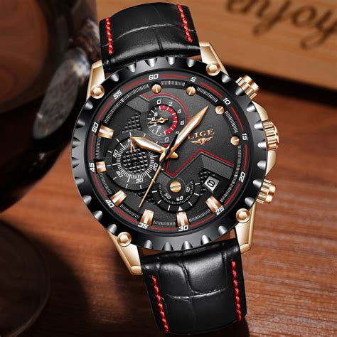 Men s Watches Luxury Fashion Casual Dress and Sport