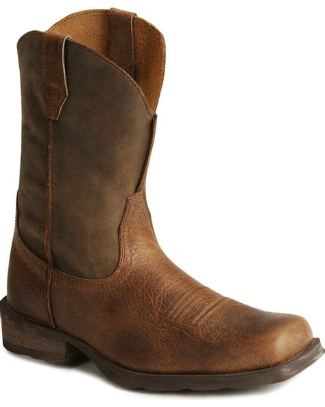 Men s Western Footwear and Leather Cowboy Boots Ariat