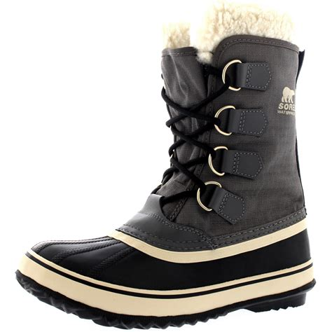 Men s Winter Boots Waterproof Snow Rain Boots SOREL