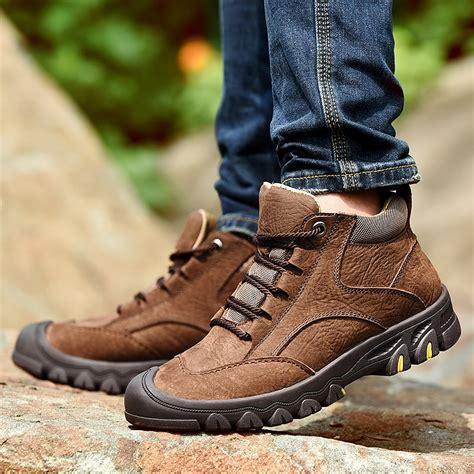 Men s Work Boots Outdoor Footwear Shoes for Men