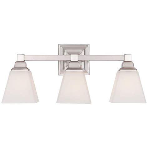 Mencino Satin Nickel 3 Light 20 Wide Bath Light 5Y949