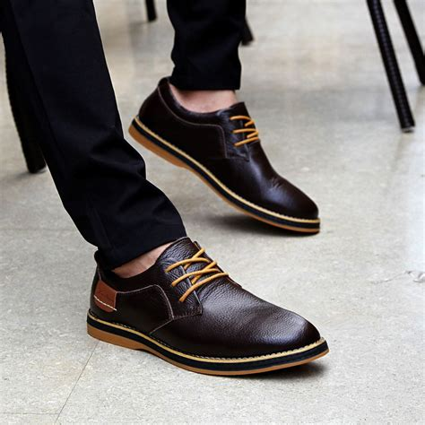Mens Black Dress Shoes Black Casual Shoes