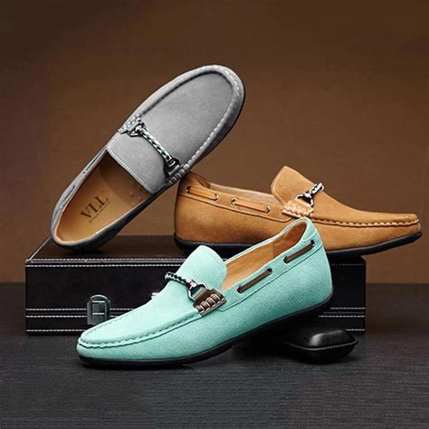 Mens Boat Shoes Cheap Leather Shoes Suede Shoes