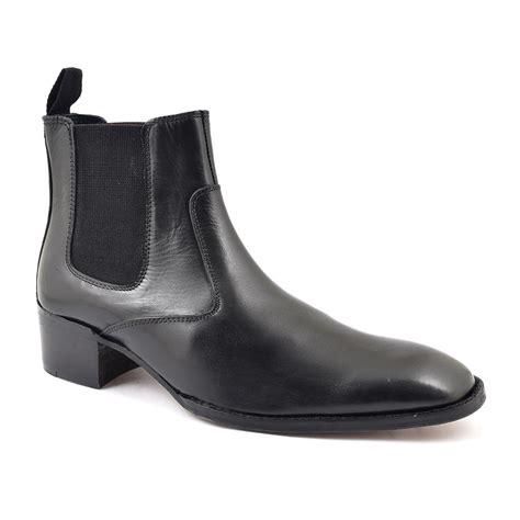 Mens Cuban Heel Boots Mens Heeled Boots Gucinari