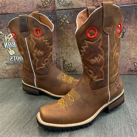 Mens Fashion Cowboy and Designer Western Work Boots