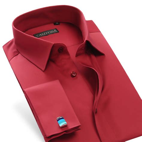 Mens French Cuff Dress Shirts and Slim Fit Shirts