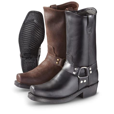 Mens Harness Boots Shoes