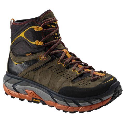 Mens Hoka One One Tor Ultra Hi WP Hiking Shoe at Road