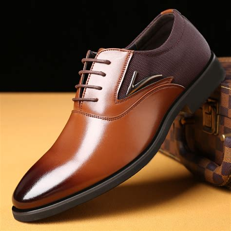 Mens Italian Style Dress Shoes