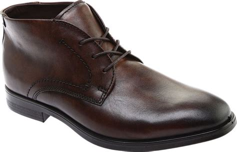 Mens Leather Chukka Boots FREE Shipping Exchanges