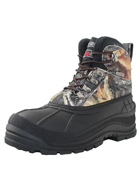 Mens Leather Duck Boots FREE Shipping Exchanges