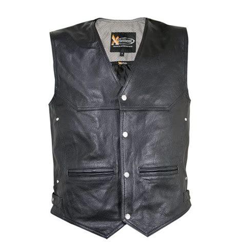 Mens Leather Vests Motorcycle Biker Vests LeatherUp
