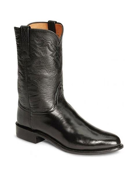 Mens Lucchese men s western roper contemporary boots