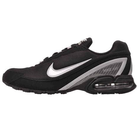 Mens Nike Air Max Torch 3 Running Shoes Black White Silver