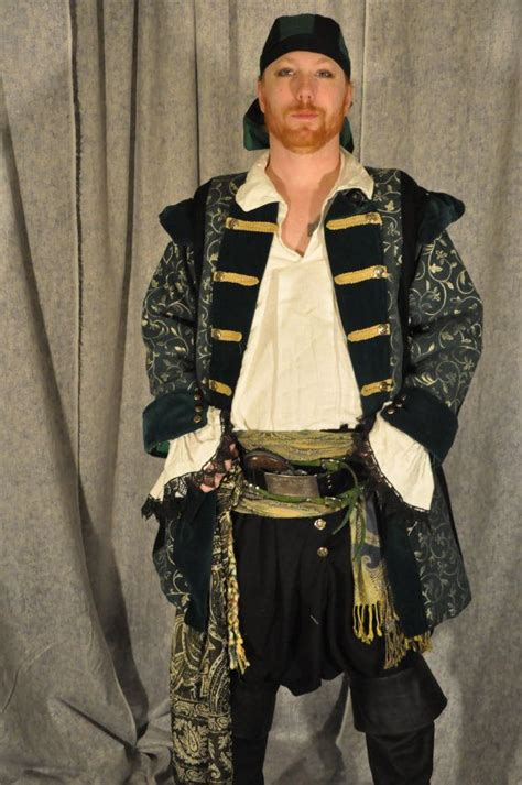 Mens Pirate Costumes and Pirate Costumes by Medieval
